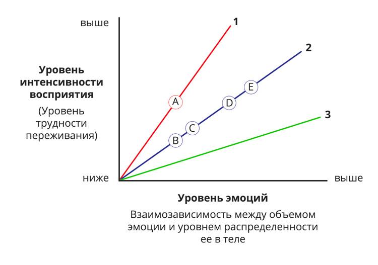 Integral Somatic Psychology Affect Tolerance Graph